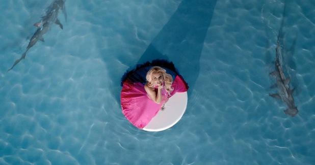 Britney Spears 'Work Bitch' music video still.