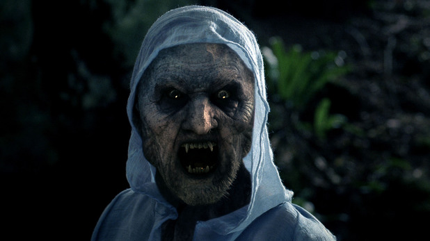 A monster in episode two of 'Atlantis'.
