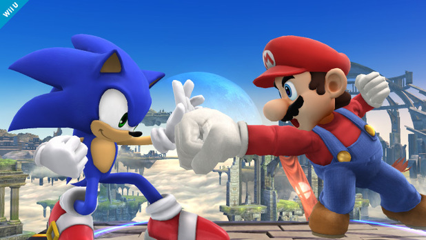 'Super Smash Bros.' Sonic The Hedgehog screenshot