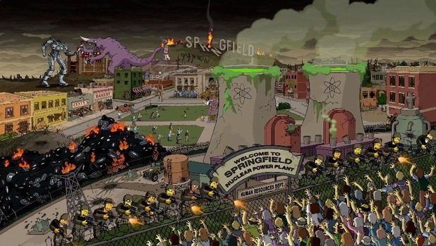 'Pacific Rim'' referenced in Guillermo del Toro's opening sequence to 'The Simpsons'