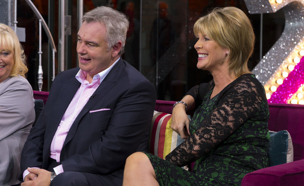 Eamonn Holmes and Ruth Langsford during the 25th anniversary show of 'This Morning'