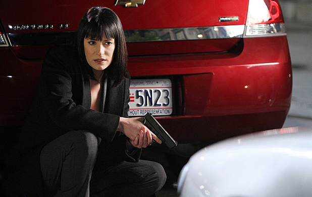 Paget Brewster as Prentiss in 'Criminal Minds'