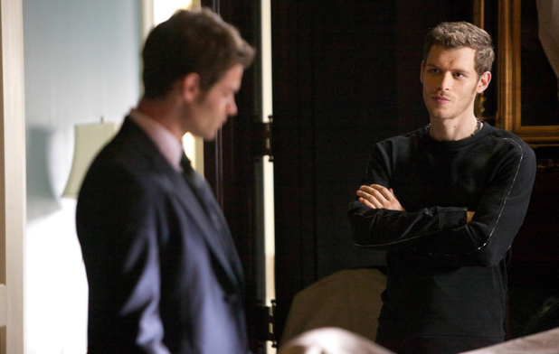 Daniel Gillies as Elijah and Joseph Morgan as Klaus in 'The Originals' S01E01: 'Always And Forever'