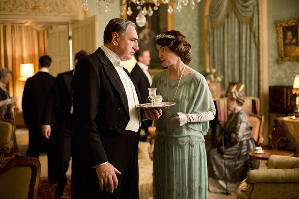 Mr Carson and Lady Grantham