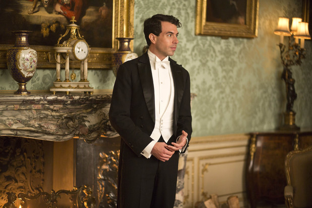 Tom Cullen as Lord Gillingham in 'Downton Abbey' episode 3