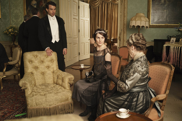 Lord Gillingham, Lady Mary and Violet