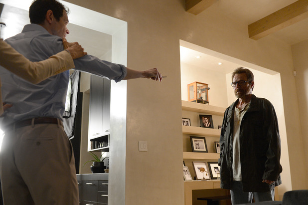 Breaking Bad S05E16 - 'Felina': Elliott (Adam Godley) and Walter White (Bryan Cranston