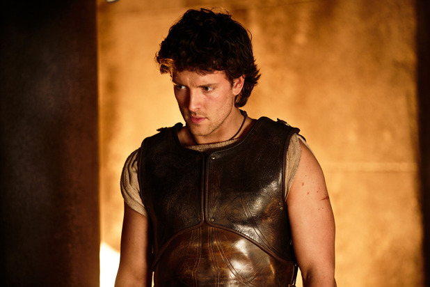 Jack Donnelly as Jason in 'Atlantis' episode two