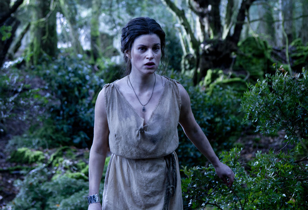 Jemima Rooper as Medusa in 'Atlantis' episode two