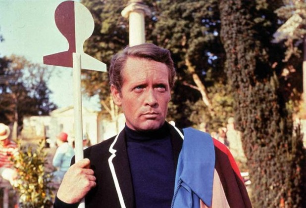Patrick McGoohan in 'The Prisoner'