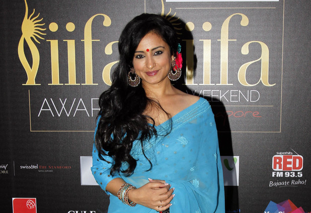 Bollywood actress Divya Dutta at the Jaypee International Indian Film Academy (IIFA) awards.