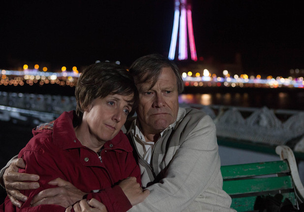Roy and Hayley spend the evening together in Blackpool.