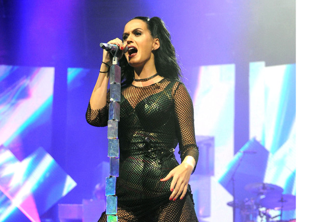 Katy Perry performs as part of iTunes Festival at the Roundhouse, London