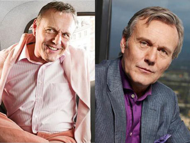 Anthony Head in the UK and US versions of 'Free Agents'