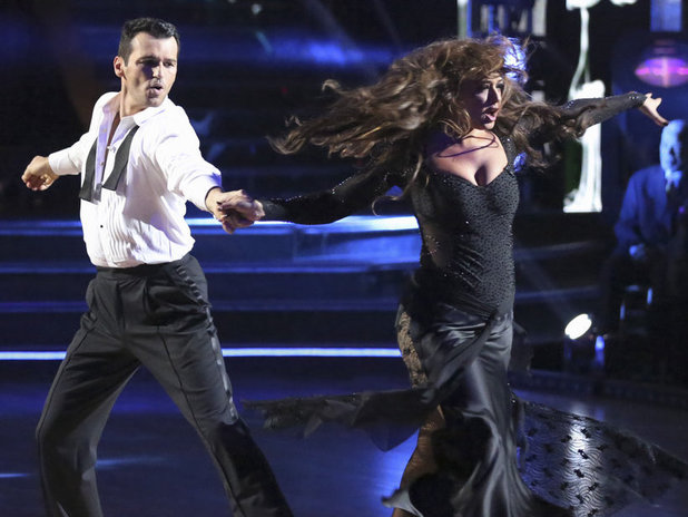 Dancing With The Stars (Fall 2013) episode 3: Tony Dovolani & Leah Remini