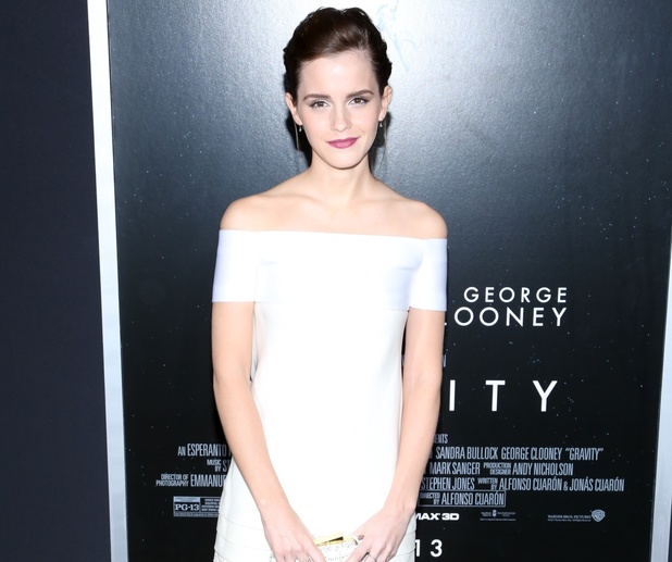the 'Gravity' premiere at AMC Lincoln Square Theater on October 1, 2013 Emma Watson