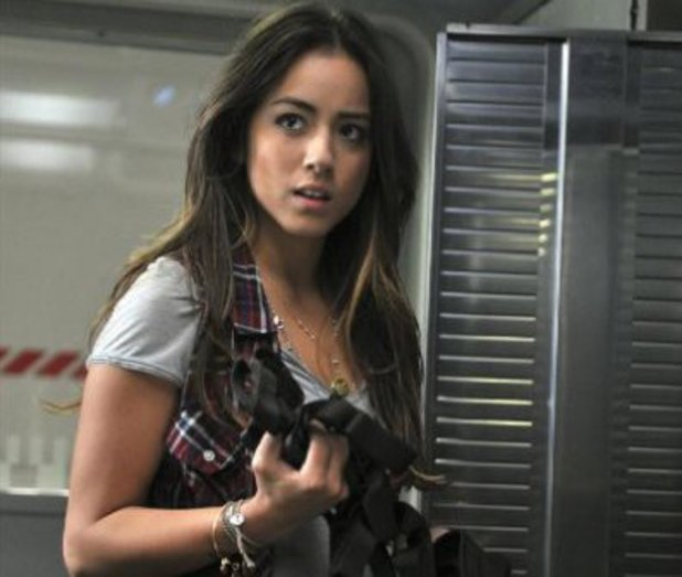 "Chloe Bennet in Marvel's Agents of S.H.I.E.L.D episode 2: ""0-8-4"""
