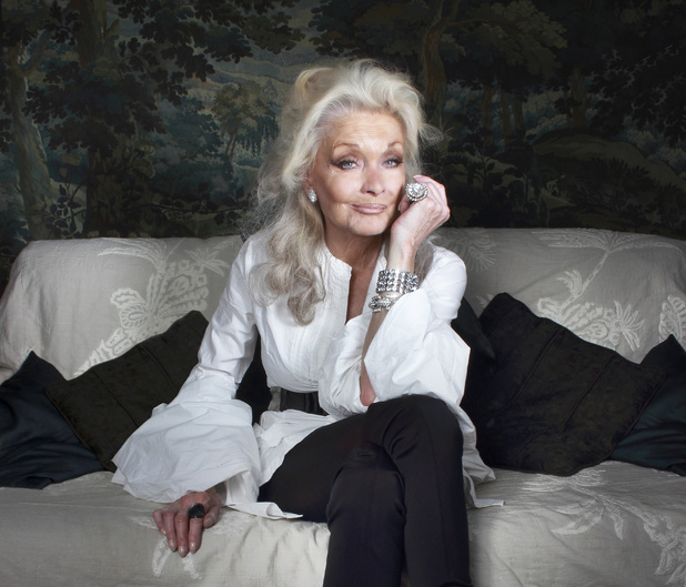 Kate O'Mara today.