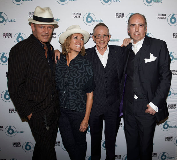 The Clash, Paul Simonon, Cerys Matthews, Topper Headon, Mick Jones for BBC 6 Music