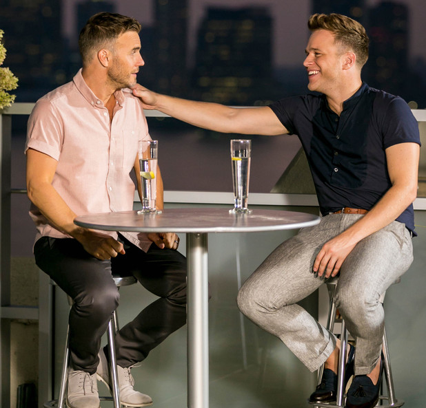 'The X Factor' judges houses: Gary Barlow and guest judge Olly Murs