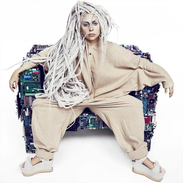 Lady Gaga in new 'ARTPOP' promo image.