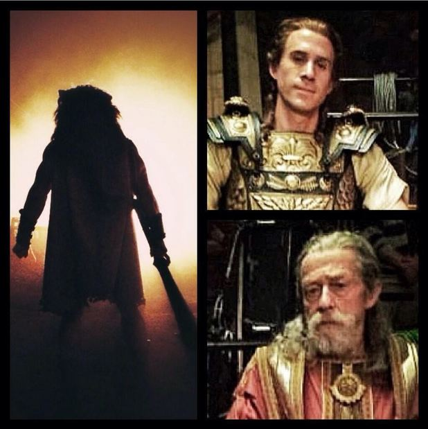 Joseph Fiennes, John Hurt - first 'Hercules' look