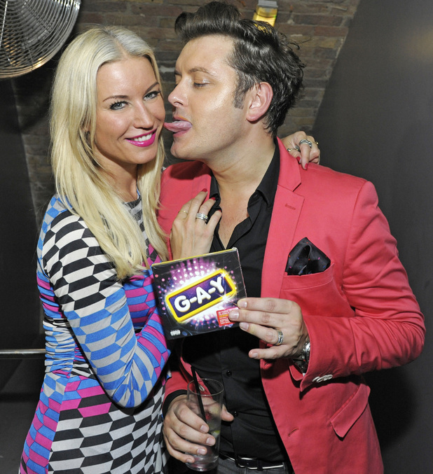 Denise Van Outen and Brian Dowling