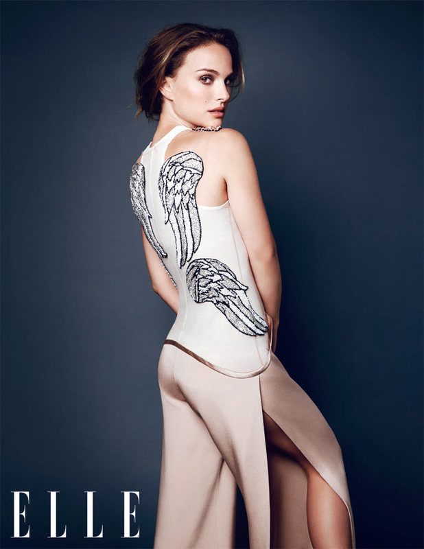 Natalie Portman photo shoot for Elle magazine