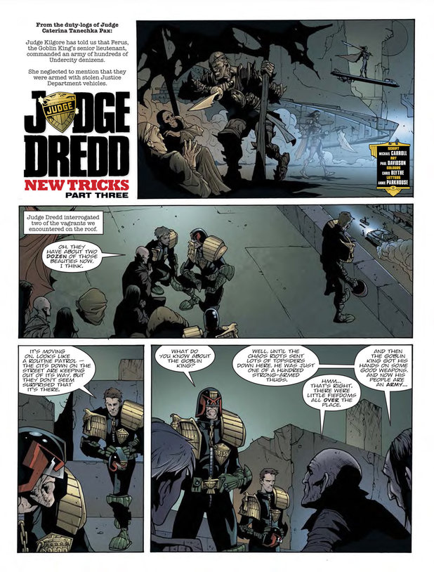 Judge Dredd 'New Tricks'