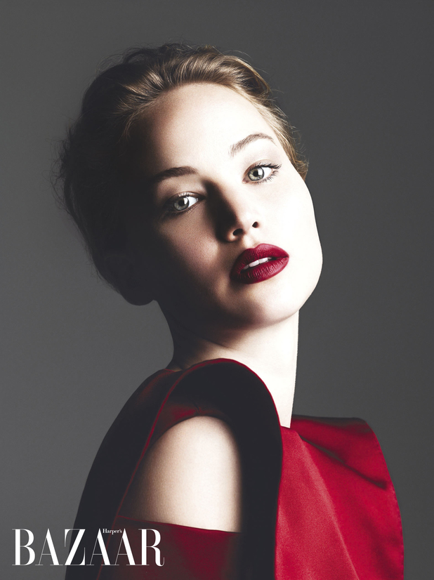 Jennifer Lawrence photoshoot for Harper's Bazaar