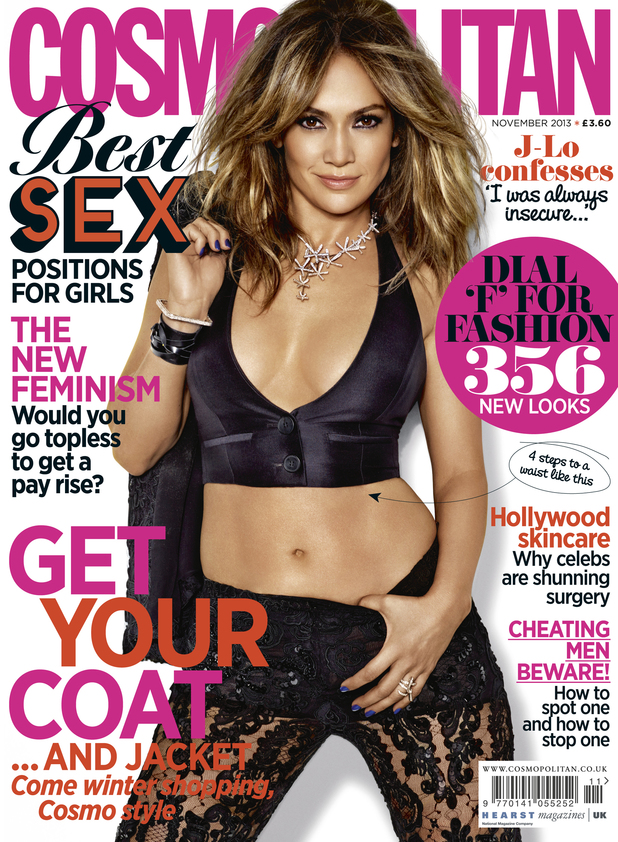 Jennifer Lopez in 'Cosmopolitan'