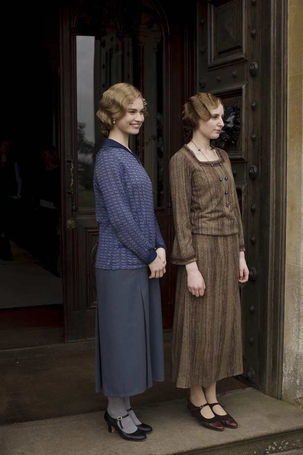 Lady Rose and Lady Edith