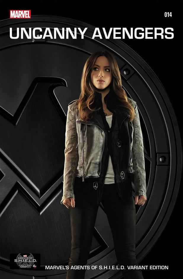 Agents of Shield Cover Agents of Shield Uncanny