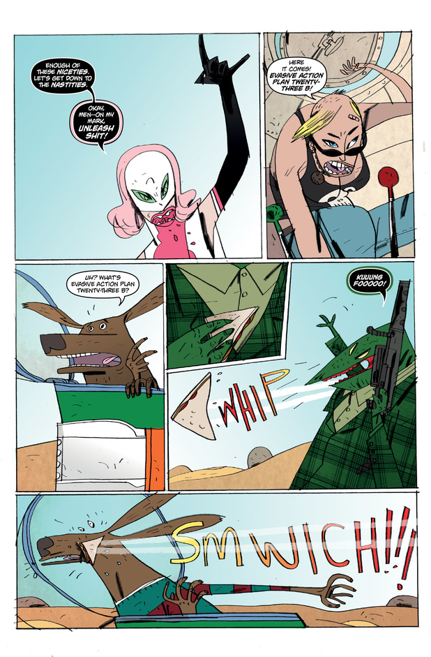 'Solid State Tank Girl' preview