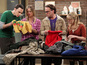 Raj challenges the Big Bang Theory gang to a scavenger hunt across the city.