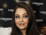 Aishwarya Rai Bachchan at the opening of a showroom of Swiss watchmaker Longines.
