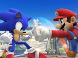 'Super Smash Bros.' Sonic The Hedgehog screenshot