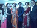 Basu and Gupta were show stoppers at the charity fashion show for Pratham UK.