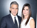 George Clooney also discusses bonding with Gravity co-star's son Louis.