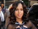 Scandal's Kerry Washington weighs in on the current US government shutdown.