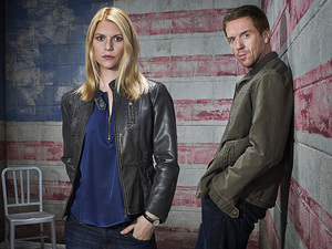 Homeland season 3 iconic image: Damian Lewis as Nicholas Brody and Claire Danes as Carrie Mathison