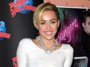 Miley Cyrus 'Bangerz' record release event at Planet Hollywood, New York, America - 08 Oct 2013