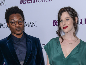 Theo and Sasha Spielberg of indie band Wardell at the Teen Vogue Coveted Young Hollywood Issue Party