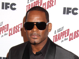 R Kelly at the 'Trapped in the Closet' Screening, New York.