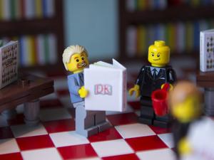 Lego Simon Pegg