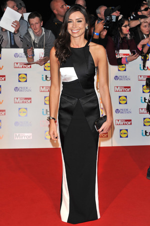 Christine Bleakley arriving at the 2013 Pride of Britain awards at Grosvenor House, London.