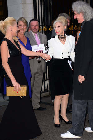 Pride of Britain Awards, London, Britain - 07 Oct 2013 Michelle Collins, Anita Dobson, Brian May 7 Oct 2013
