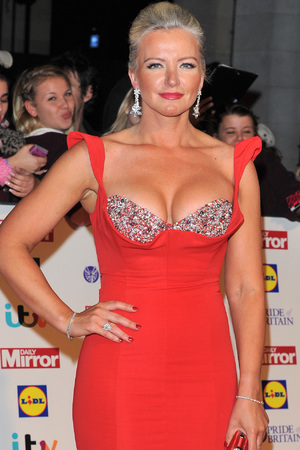 Michelle Mone arriving at the 2013 Pride of Britain awards at Grosvenor House, London.