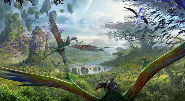 Artist concept of Avatar Land