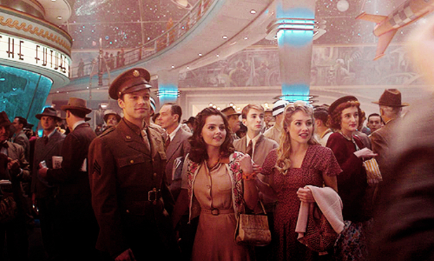 Jenna Coleman Captain America The First Avenger scene